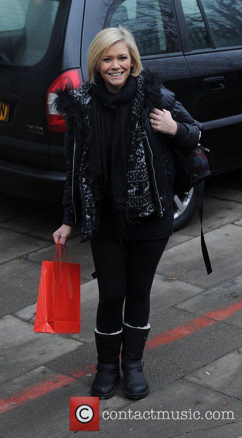 Celebrities outside the ITV studios.