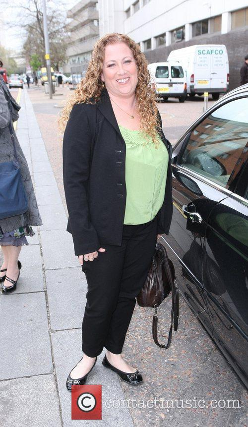 Jodi Picoult Celebrities outside the ITV television studios....