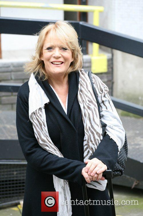 Sherrie Hewson Celebrities outside the ITV television studios....