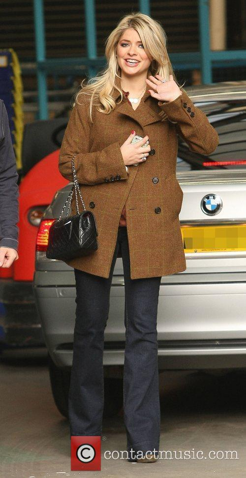 Holly Willoughby, who announced her pregnancy on 'This...