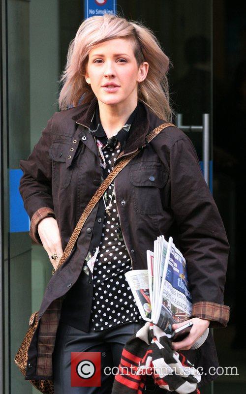 Ellie Goulding  outside the ITV studios London,...