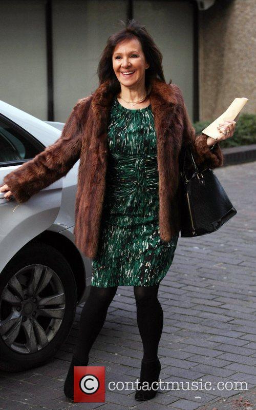 Arlene Phillips outside the ITV Studios London, England