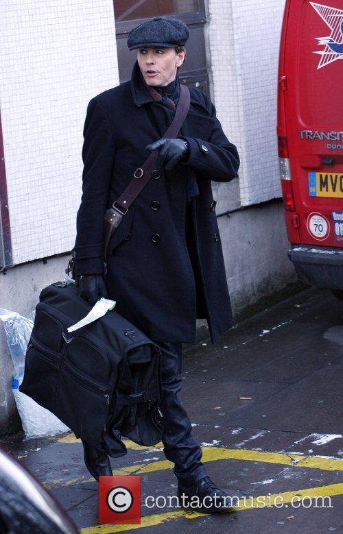 John Taylor outside the ITV Studios London, England