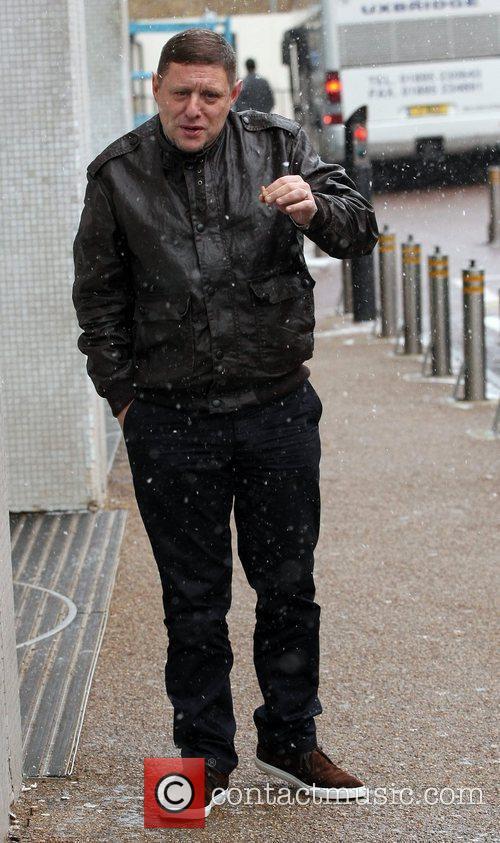 Shaun Ryder outside the ITV Studios London, England