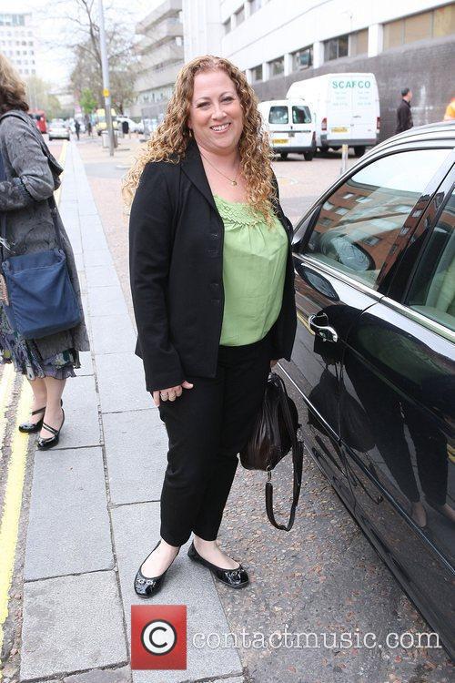 Jodi Picoult outside the ITV Studios London, England