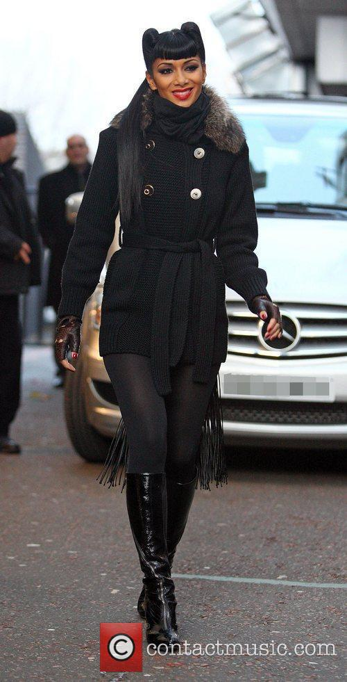 Nicole Scherzinger leaving the ITV studios London, England