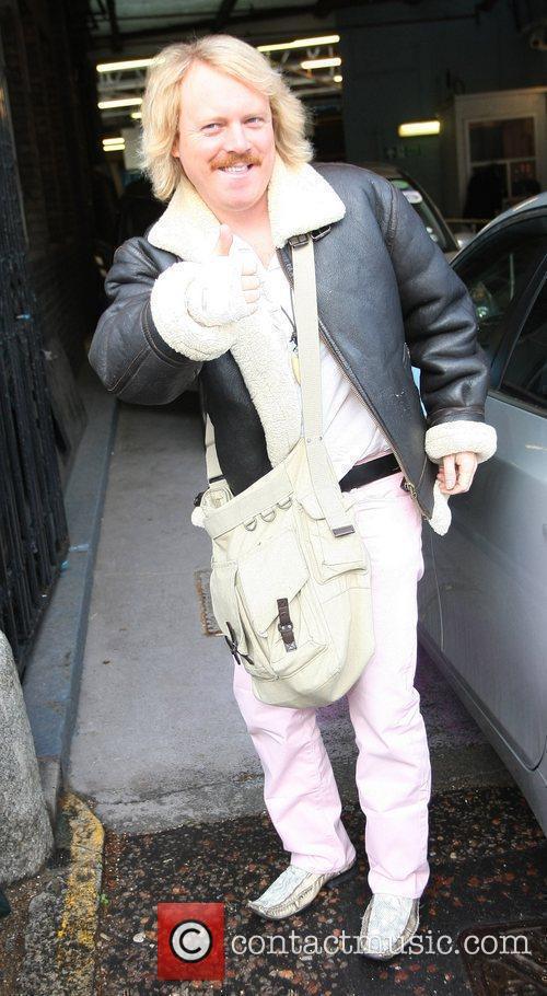 Keith Lemon aka Leigh Francis outside the ITV...
