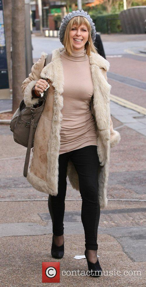 Kate Garraway  outside the ITV studios London,...