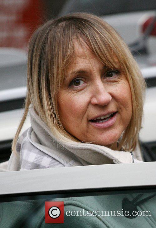 Carol McGiffin Celebrities outside the ITV television studios...