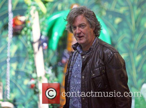 James May leaves the ITV studios London, England