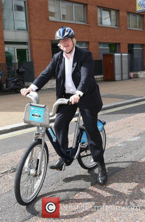 Boris Johnson at the ITV studios on his...