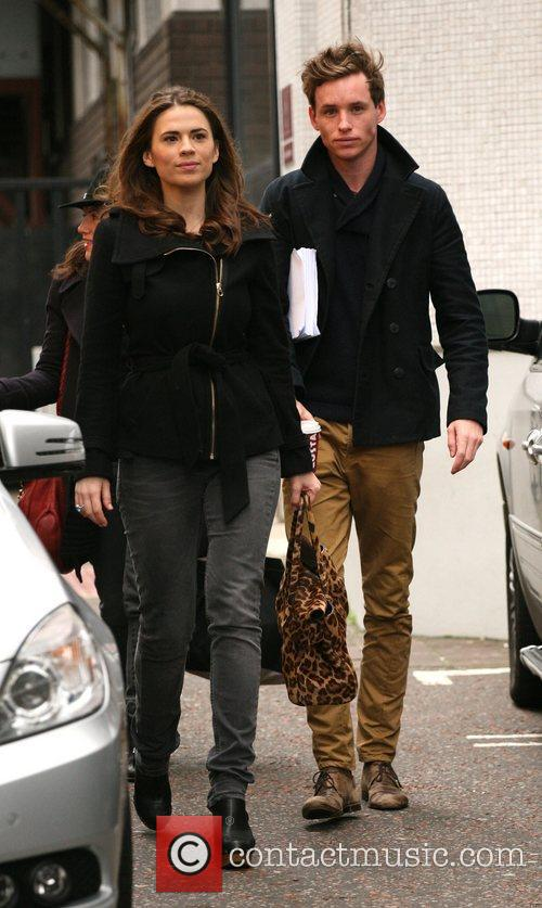 Hayley Atwell and Eddie Redmayne 7