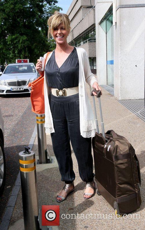 Kate Garraway Celebrities outside the ITV studios London,...