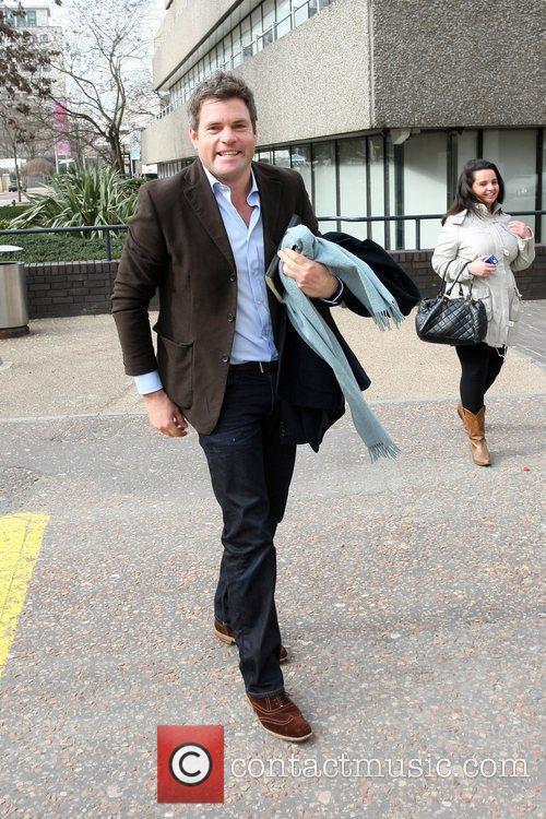 Mark Durden-Smith leaving the ITV studios London, England