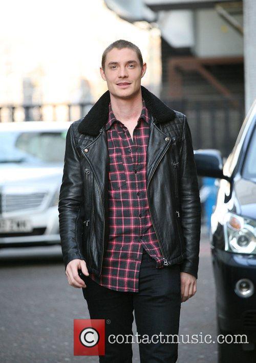 Max Brown leaving the ITV studios London, England