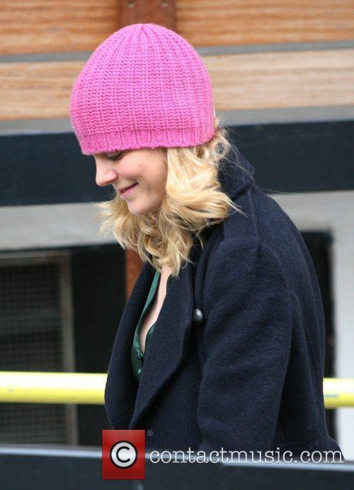 Emilia Fox leaves the ITV studios London, England