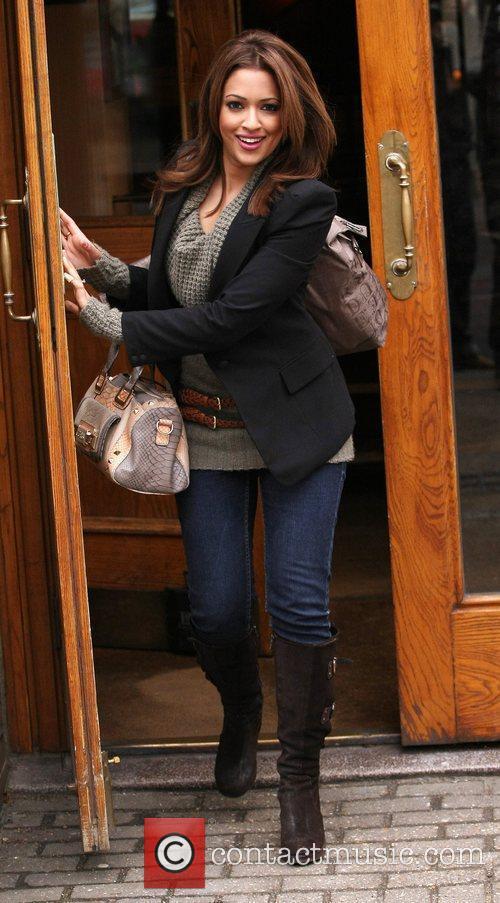 Tasmin Lucia Khan leaves the ITV studios London,...