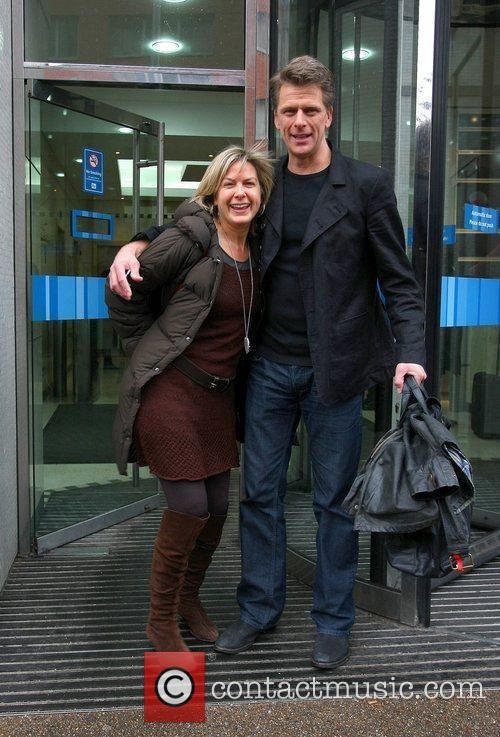 Andrew Castle and Penny Smith leave the ITV...