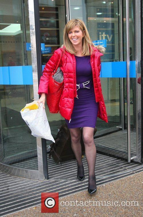 Leaves the ITV studios