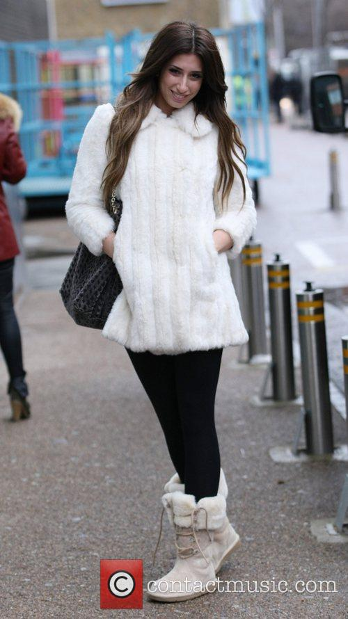 Stacey Solomon outside the ITV studios London, England