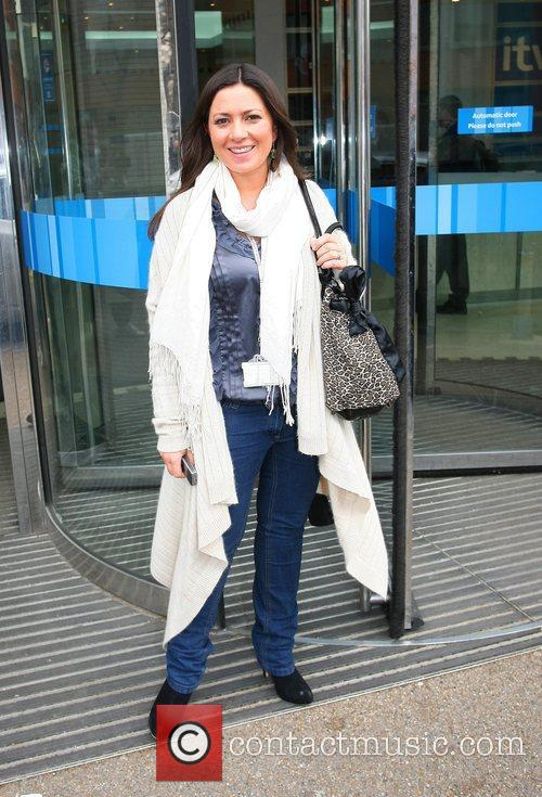 Clair Nazir leaves the London Studios London, England