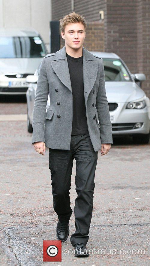 Alex Gardner outside the ITV studios  London,...
