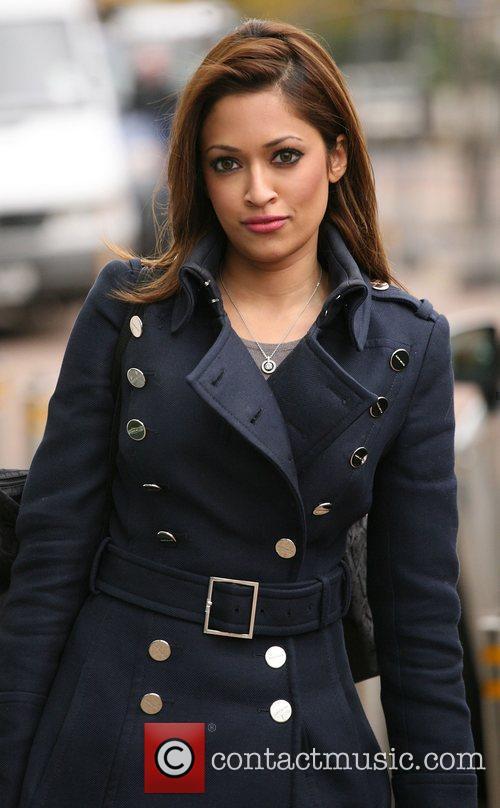 Tasmin Lucia Khan leaving the ITV Studios