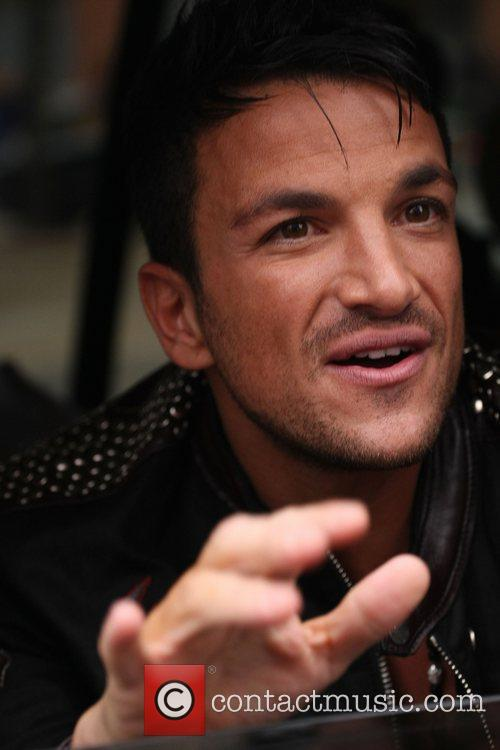 Peter Andre leaving the ITV Studios