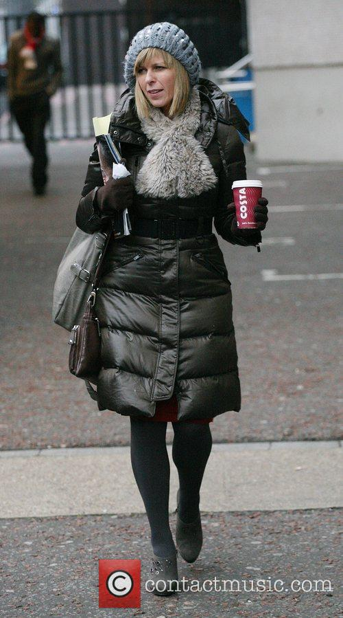 Kate Garraway outside the ITV studios London, England