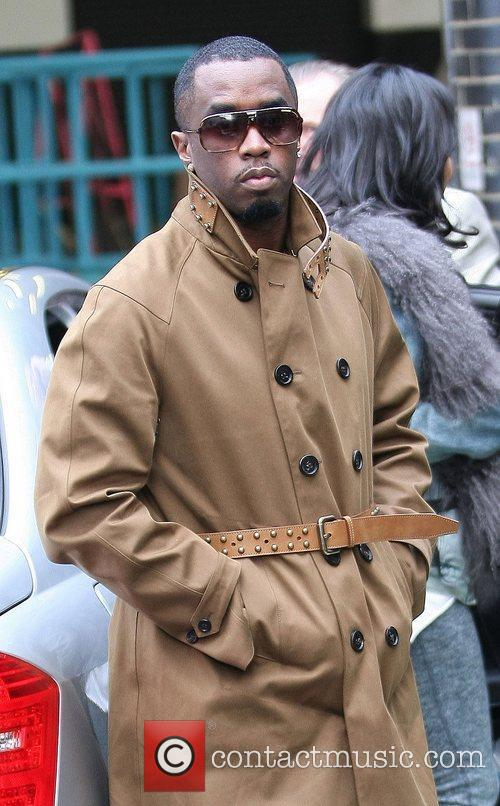 P. Diddy aka Sean Combs outside the ITV...