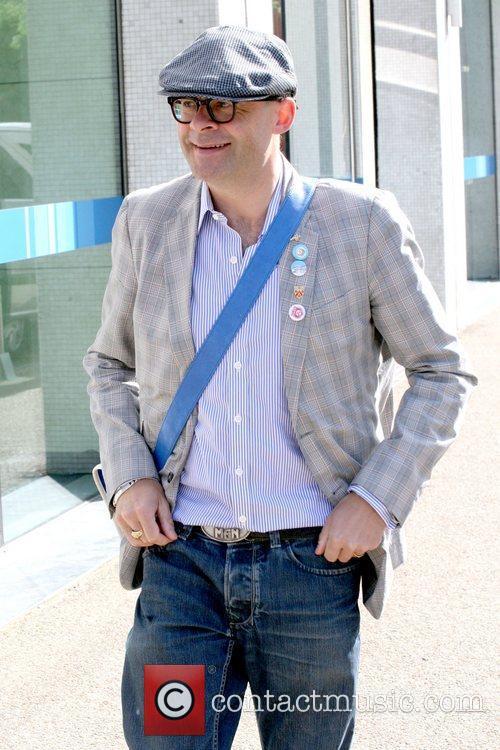 Harry Hill Celebrities outside the ITV studios London,...