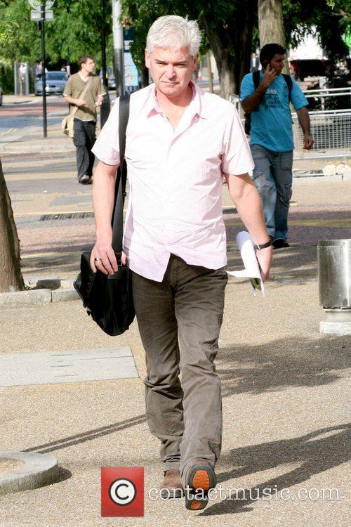 Phillip Schofield Celebrities outside the ITV studios London,...