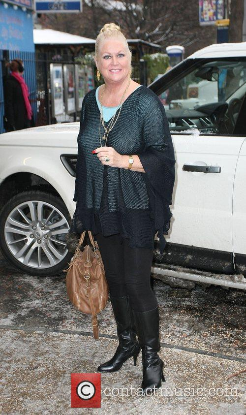 Kim Woodburn at the ITV studios London, England