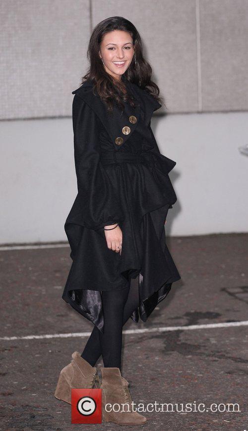 Michelle Keegan at the ITV studios London, England