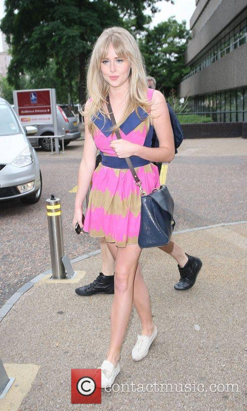 Diana Vickers at the ITV Studios London, England