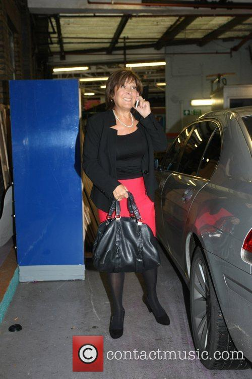 Linda Billingham Arriving At The This Morning Tv Studios 2