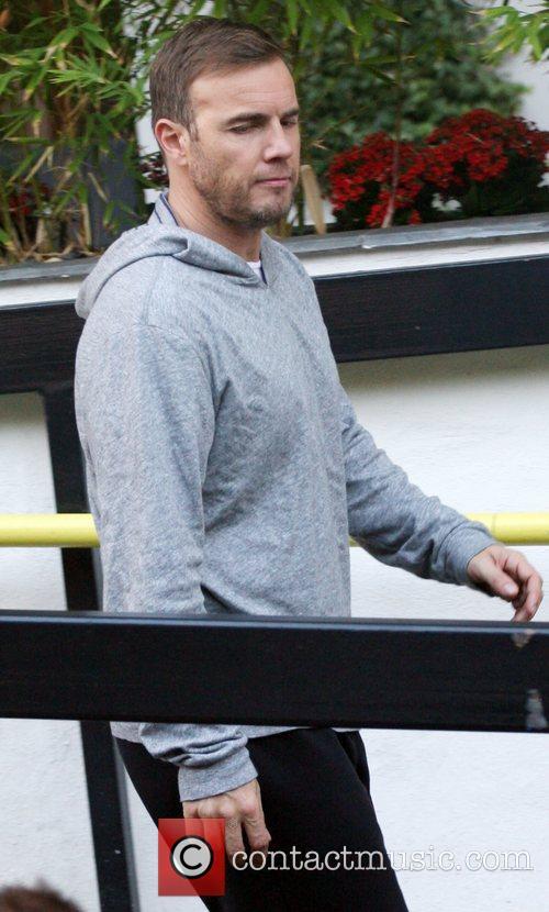 Gary Barlow at the ITV studios
