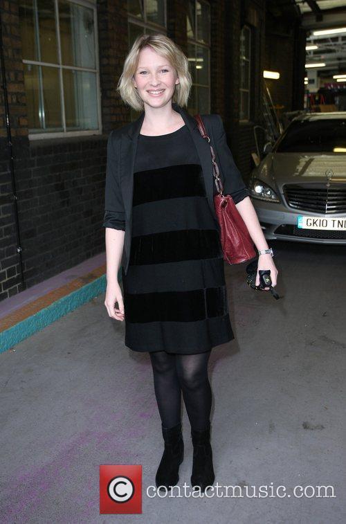 Joanna Page at the ITV studios
