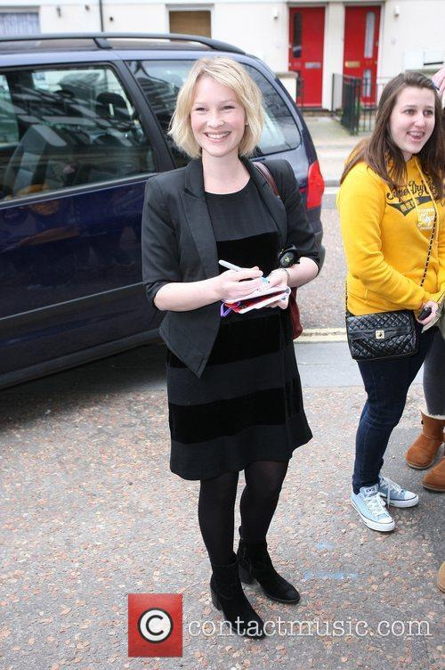 Joanna Page at the ITV studios London, England