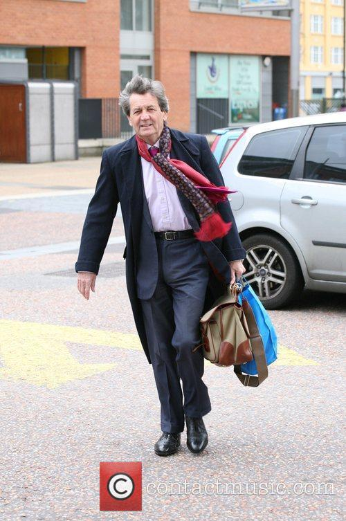 Melvyn Bragg at the ITV studios London, England
