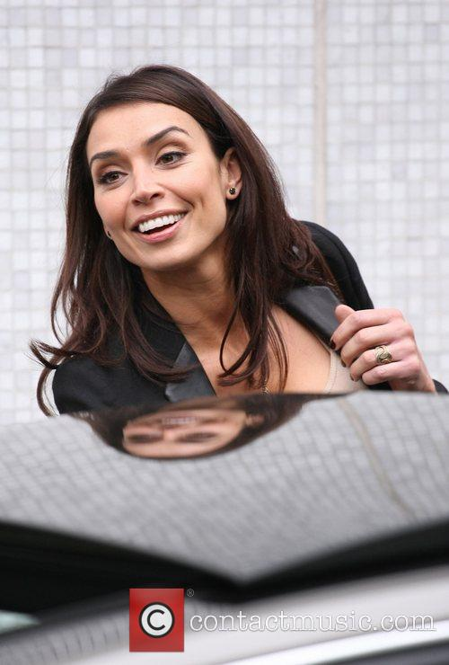 Christine Bleakley and Leaves 7