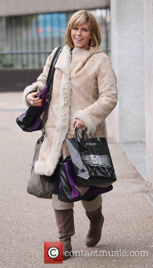 Kate Garraway at the ITV studios London, England