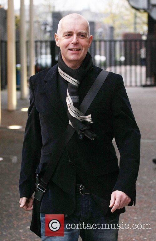 Neil Tennant at the ITV studios London, England