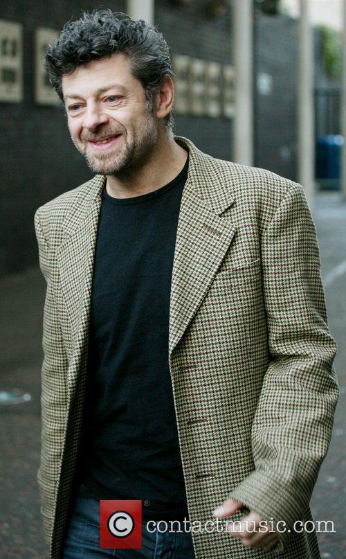 Andy Serkis outside the ITV studios London, England