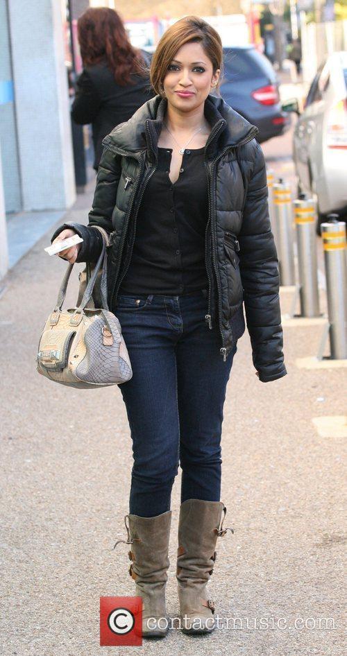 Tasmin Lucia Khan outside the ITV studios London,...