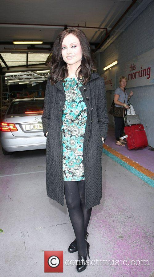 Sophie Ellis-Bextor outside the ITV studios London, England