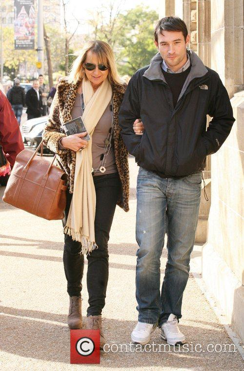 Carol McGiffin and boyfriend Mark Cassidy at the...