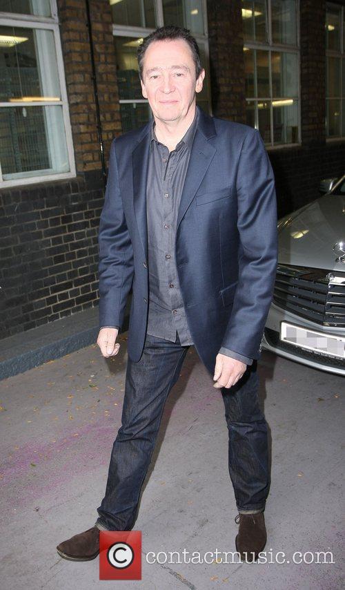 Paul Whitehouse outside the ITV studios London, England