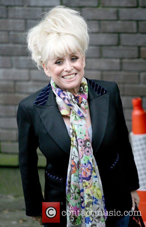 Barbara Windsor Celebrities outside the ITV television studios...