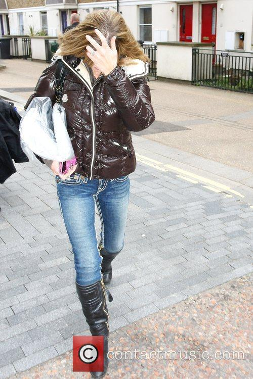 Danniella Westbrook Celebrities outside the ITV studios. London,...